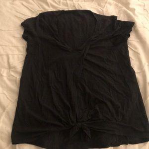 It's a knot black short sleeve luluemon Sz 10